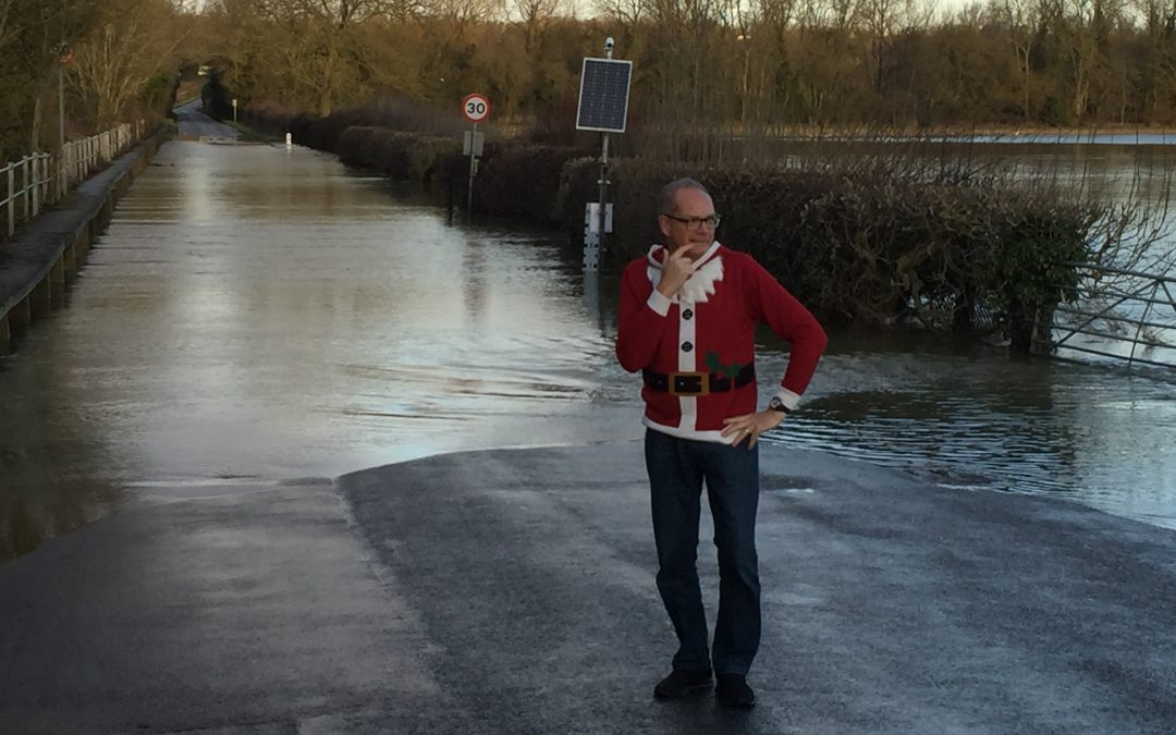 HomeFurYou beats the floods and helps Santa meet his targets